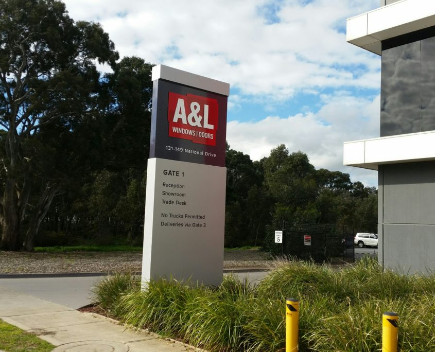 A & L Pylon signs