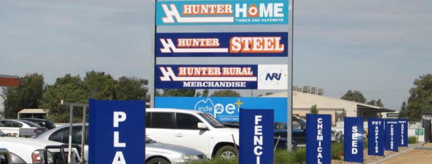 Hunters Billboard signs Melbourne